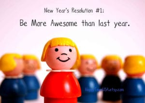 2014 new year's resolution be more awesome