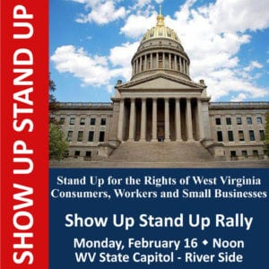 Show Up Rally at WV Capitol to Fight for 7th Amendment Constitutional Rights