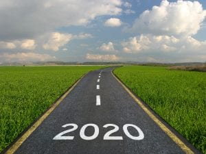 Happy 2020 on Country West Virginia Road
